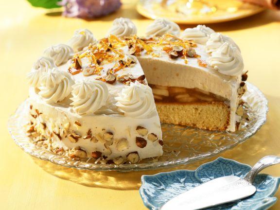 Apfel Nuss Torte Rezept Eat Smarter