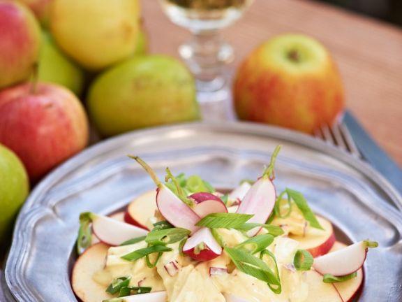 Apfel-Radieschensalat