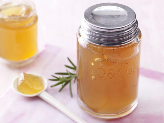 Apfel-Rosmarin-Gelee