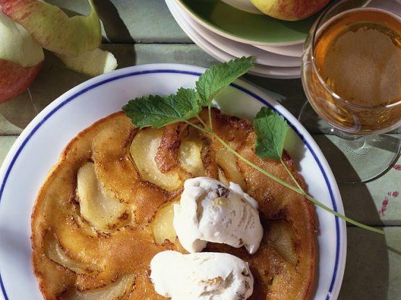 Apfel-Speckpfannkuchen