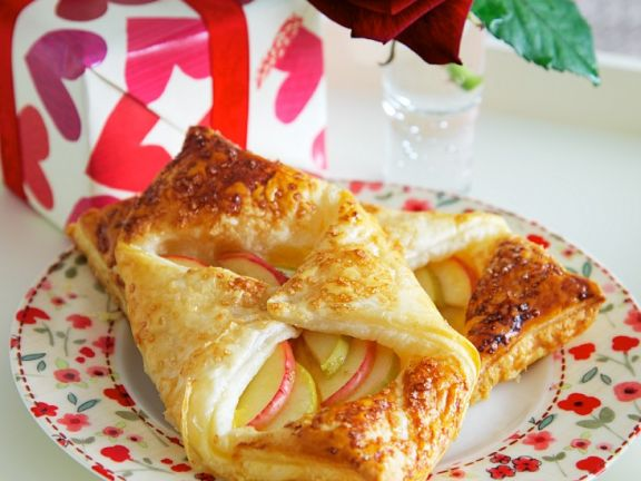 Apfel-Teigtaschen
