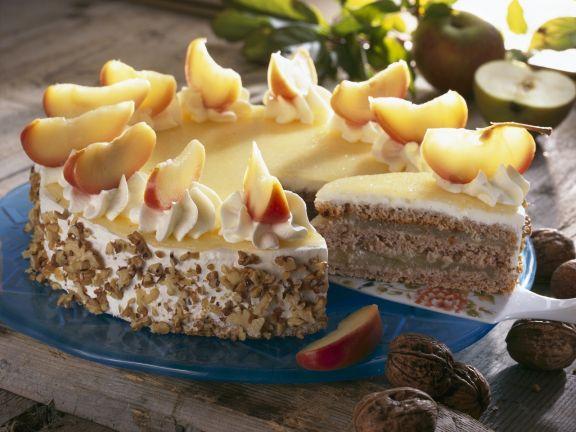 Apfel-Walnuss-Torte