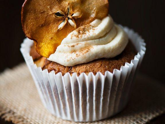 Apfel-Zimt-Cupcake