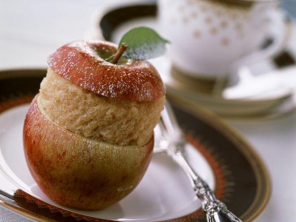 Apfel-Zimtsorbet
