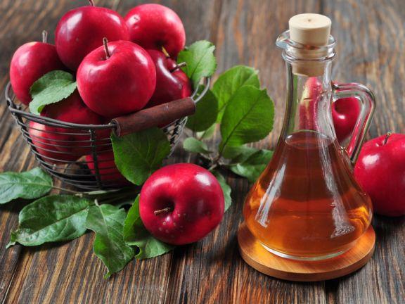 Apfelessig kann die Fettverbrennung anregen