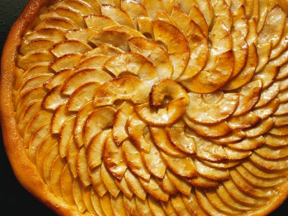 Apfelhefekuchen