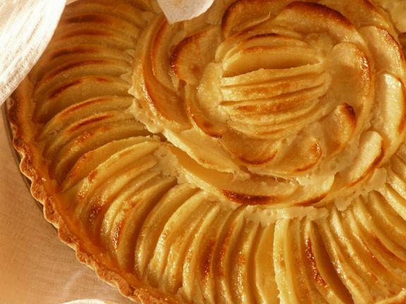 Apfelkuchen auf französische Art