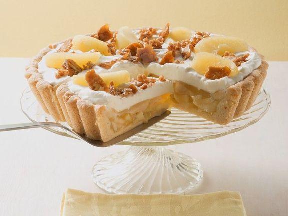 Apfelkuchen mit Sahnehaube
