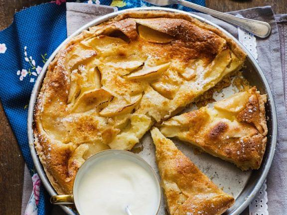 Apfelrührkuchen