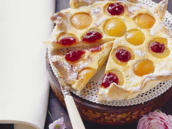 Aprikosen-Blätterteig-Kuchen
