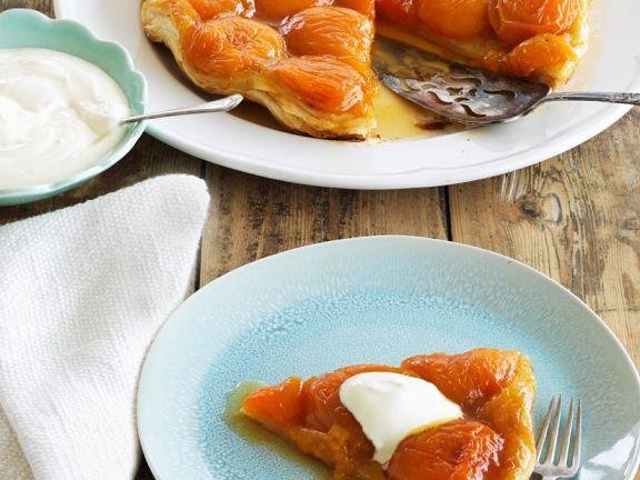 Aprikosen-Karamell-Tarte