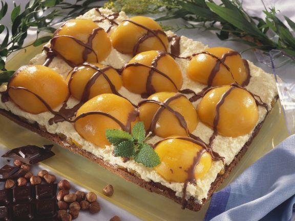 aprikosen nuss kuchen mit schokolade rezept eat smarter. Black Bedroom Furniture Sets. Home Design Ideas