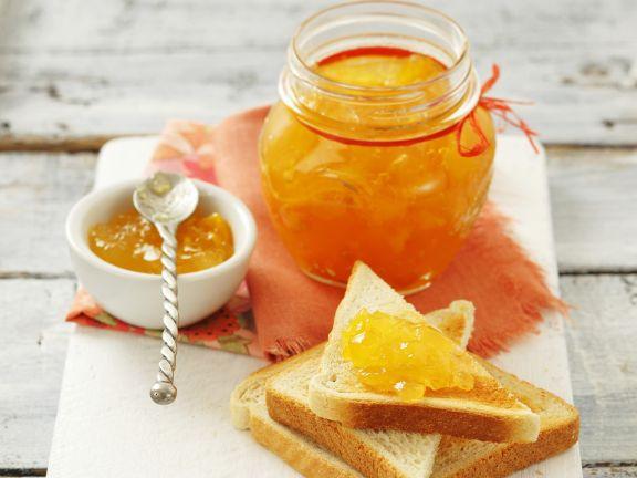 Aprikosen-Pfirsich-Konfitüre