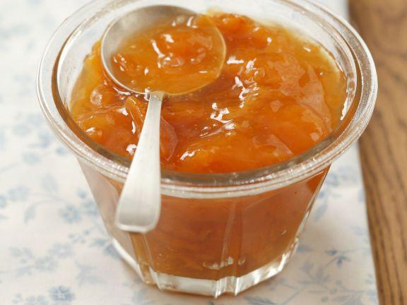 Aprikosenfruchtaufstrich