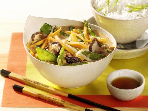 Asia-Gemüse-Curry