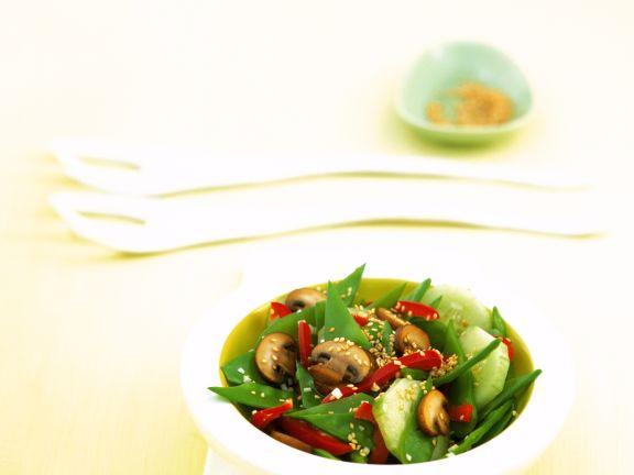 Asia-Gemüse-Salat