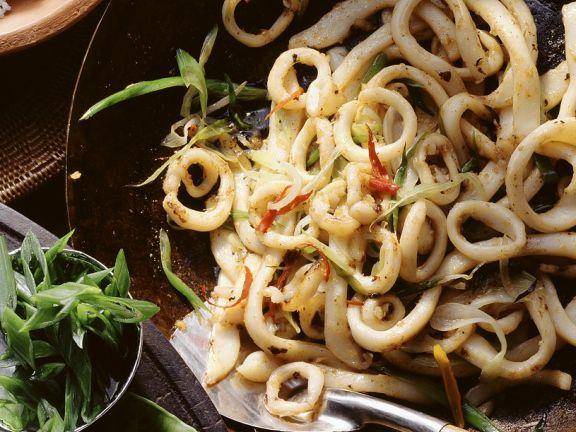 Asia tintenfisch rezept eat smarter - Tintenfisch kochen ...