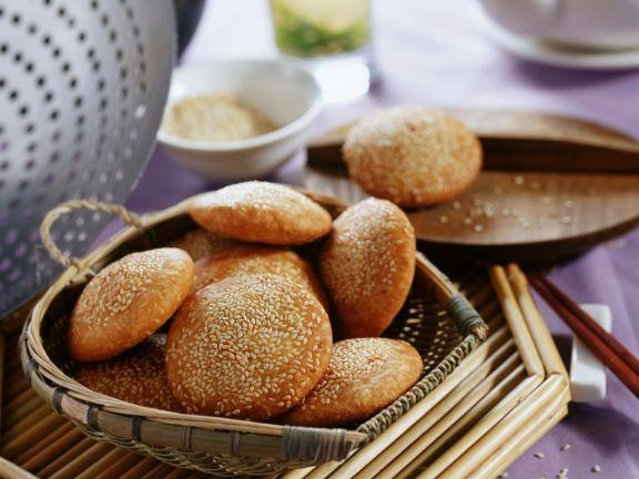 Asiatische Sesamküchlein