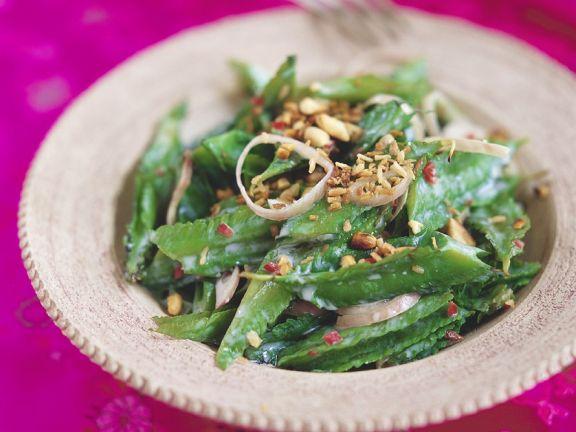 Asiatischer Bohnensalat