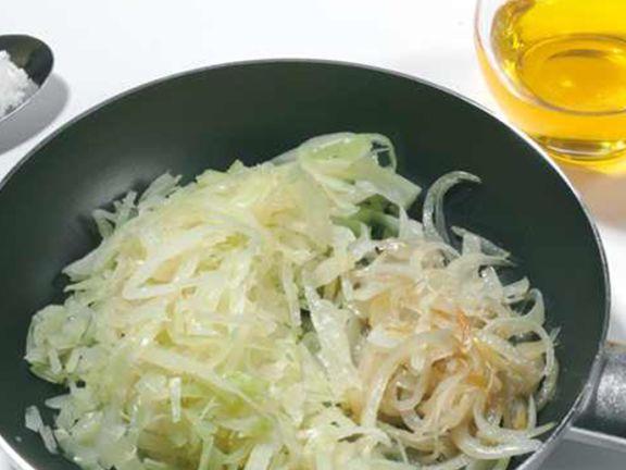 Asiatisches Weißkohlgemüse