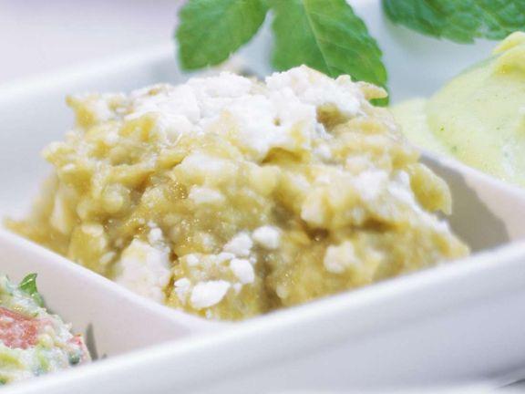 Auberginen-Käse-Creme