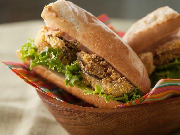 Austern-Sandwich