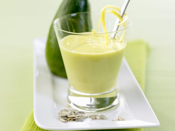 Avocado-Buttermilch-Smoothie