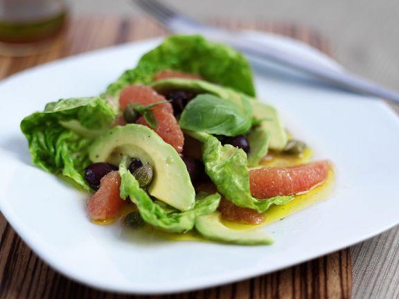 Avocado-Grapefuitsalat