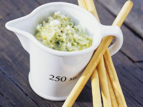 Avocado-Käse-Dip