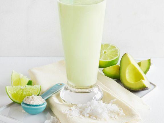 Avocado-Limettenshake