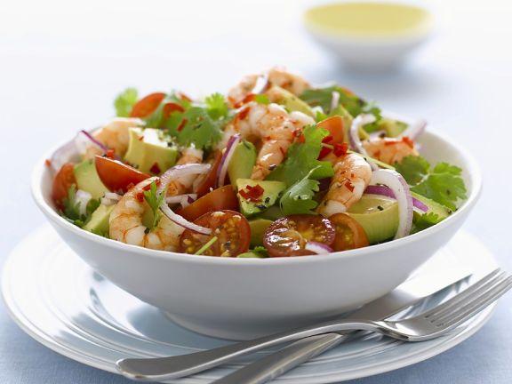 Avocado-Shrimpssalat