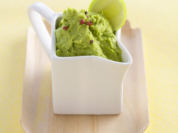 Avocadodip mit Curry