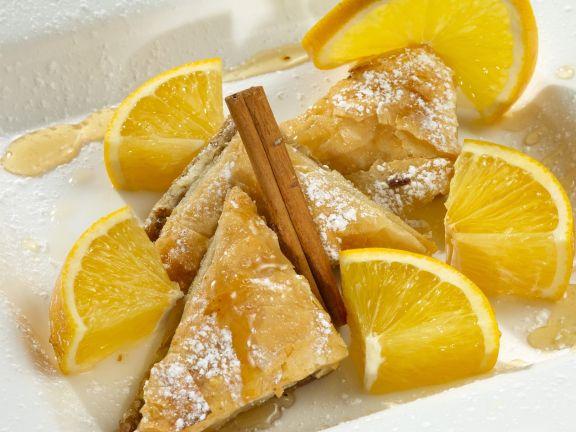 Baklava mit Orangen