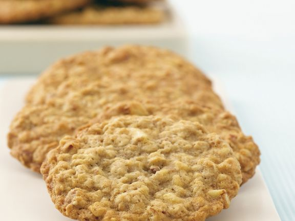 bananen cookies mit n ssen und haferflocken rezept eat smarter. Black Bedroom Furniture Sets. Home Design Ideas