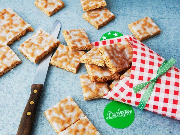 Basler Lebkuchen mit Zuckerguss