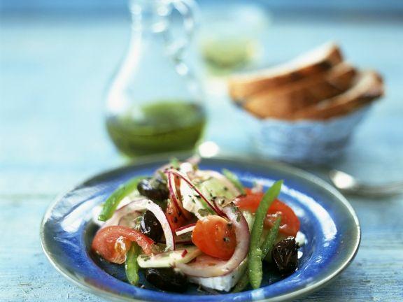 Bauernsalat nach griechischer Art