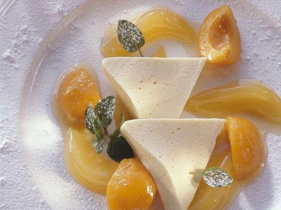 Bayrisch Creme mit Früchten