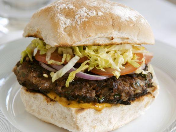 beef burger rezept eat smarter. Black Bedroom Furniture Sets. Home Design Ideas