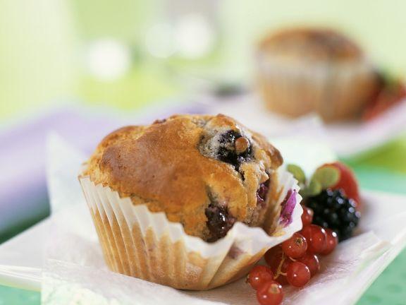 Beeren muffins rezept