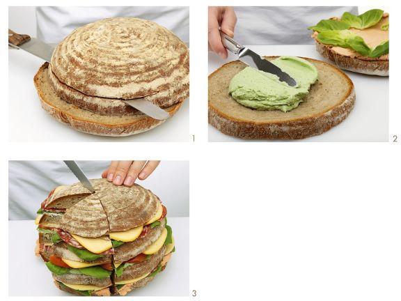 Belegtes Brot