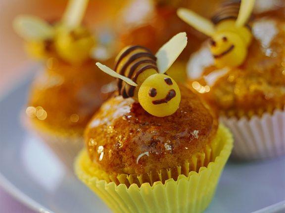 Bienchen-Muffins mit Banane
