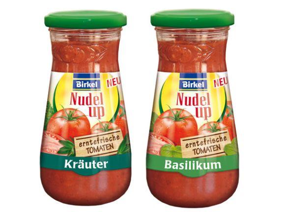 Birkel Nudel Up erntefrische Tomaten von Newlat GmbH