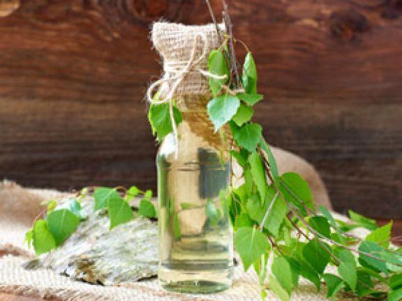 Birkenwasser Gesundheit Vorteile