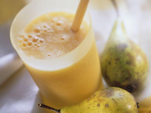 Birnen-Orangen-Smoothie