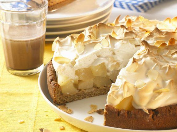 Birnenkuchen Mit Baiserhaube Rezept Eat Smarter