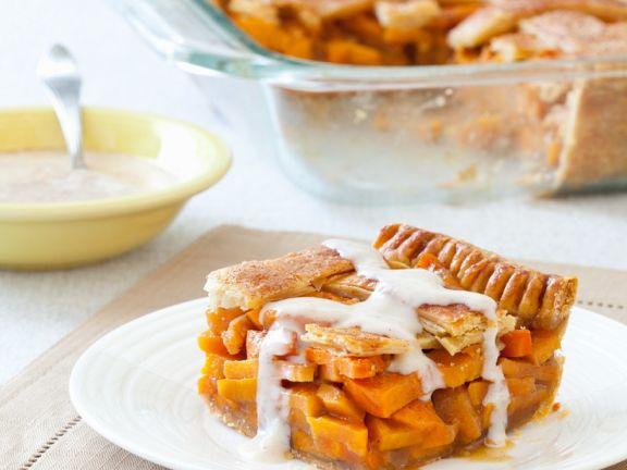 Blätterteig-Süßkartoffelkuchen