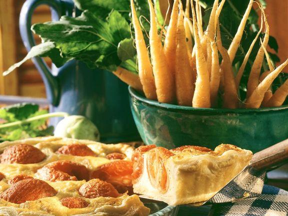 Blätterteig-Tomatenkuchen