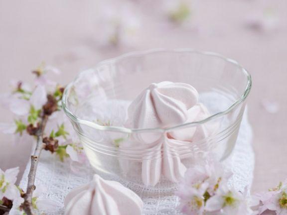 Blüten-Meringue