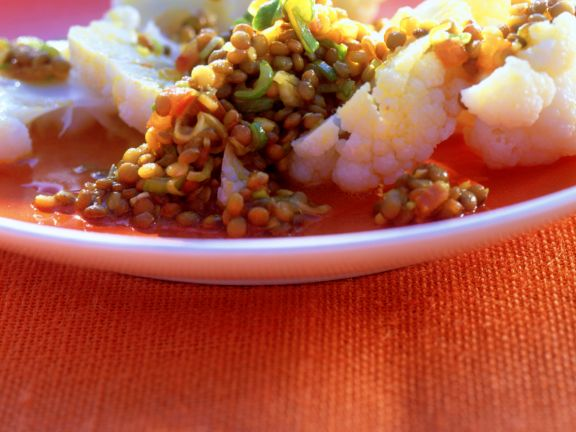 Blumenkohl-Linsen-Salat