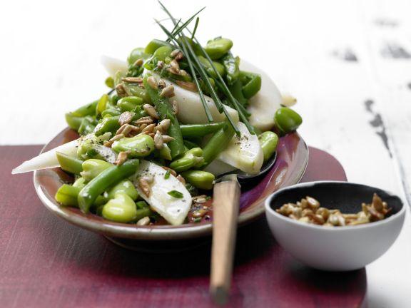 Bohnen-Birnen-Salat
